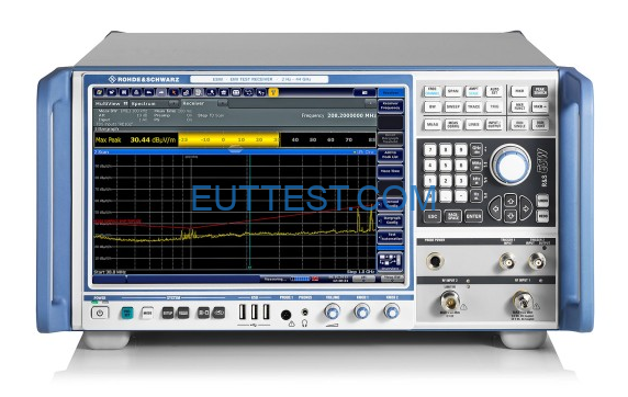EMC-EMI测试接收机操作指南r&s ESR ESW
