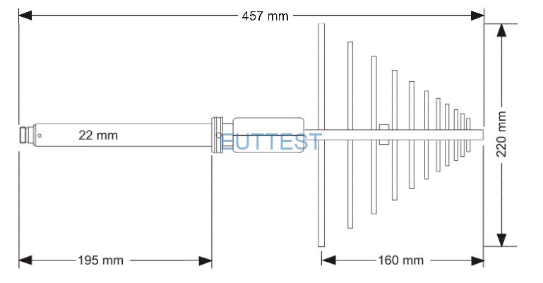 VUSLP 9111-1000尺寸外观图
