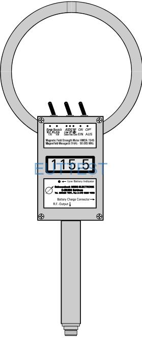 HMDA 1545 德国 schwarzbeck 带显示屏磁场强度计 9kHz-50MHz