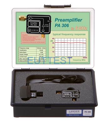 PA 306 SMA set 德国langer-emv 前置放大器 100kHz-6GHz