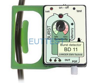 BD11夹测实际线缆的方法