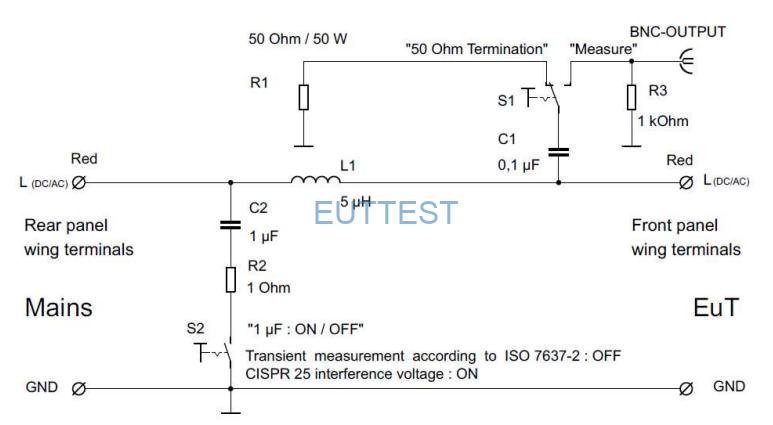 NNBM 8124-200电路原理图