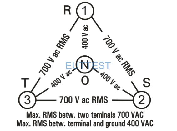 NSLK 8163最大EUT工作电压