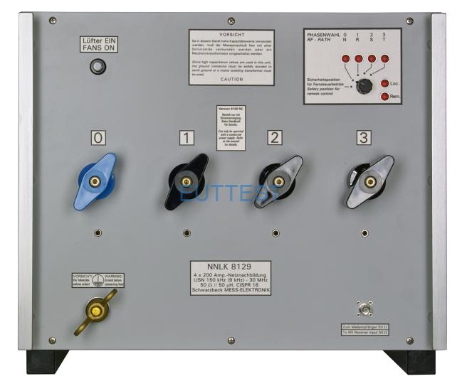 NNLK 8129 三相200-300A人工电源网络 schwarzbeck 150kHz-30MHz