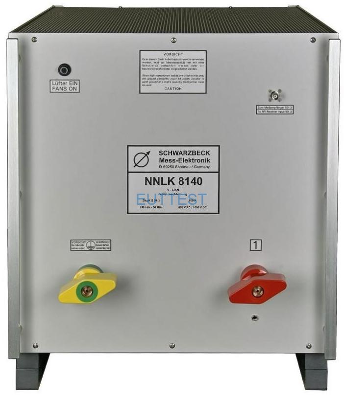 NNLK 8140 单相800A高压人工电源网络 schwarzbeck 9kHz-30MHz