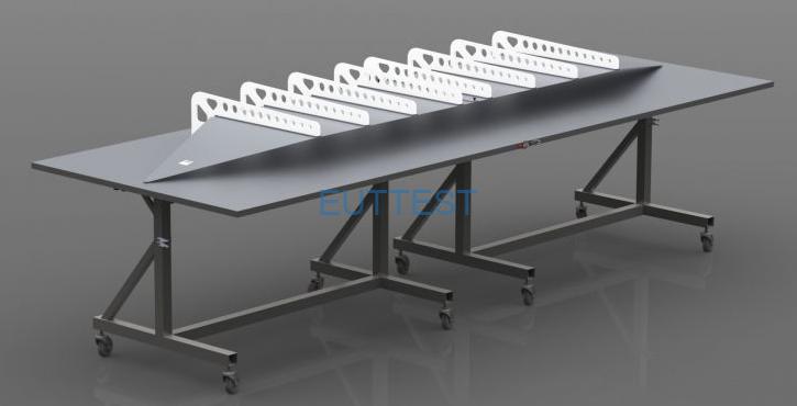 TEMZ 5231和选件Foldaway折叠桌