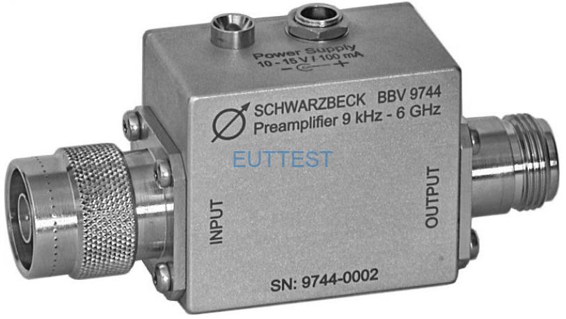 BBV 9744 宽带低噪声放大器 9kHz-6GHz