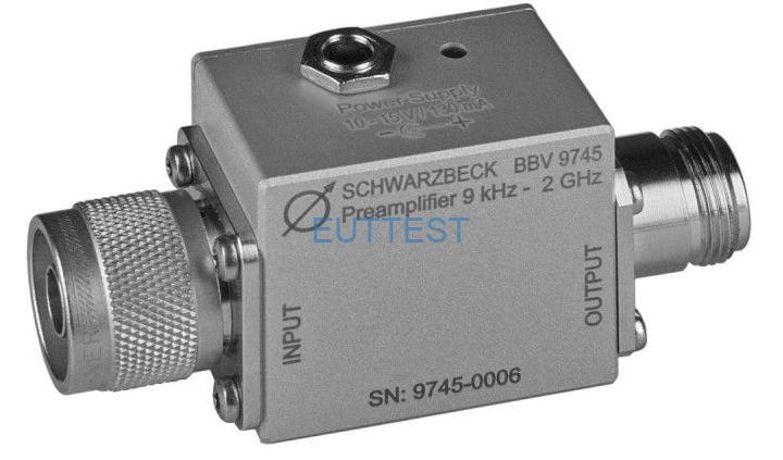BBV 9745 宽带低噪声前置放大器 9kHz-2GHz