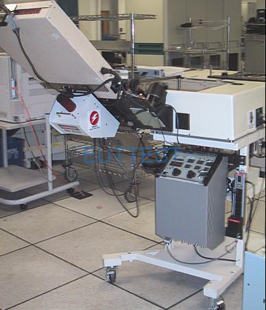 HT9460和HT9464具有自动处理程序界面的生产测试(图1)
