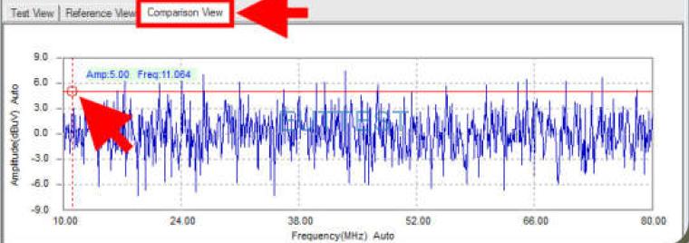 EMScanner频谱相减