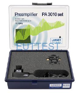 PA 3010 set 低噪声前置放大器